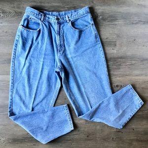 VTG Liz Wear Lt Wash Blue Mom Jeans Size 16